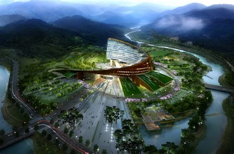 South Korean Architecture Modern Cabinet Modern Architecture In South Korea Hydro Nuclear Power Headquarters By H