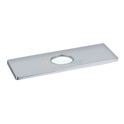 Shower Faucet Cover Plate by 4 Quot Universal Polished Chrome Brass Sink Rectangular
