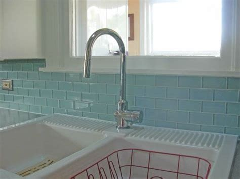 glass subway tiles for kitchen backsplash aqua glass subway tiles backsplash pinterest subway