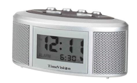 loud alarm portable clock import it all