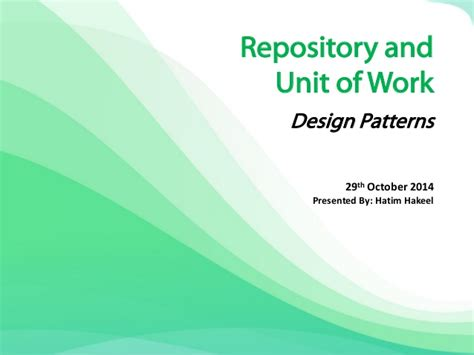 net repository pattern and unit of work repository and unit of work design patterns