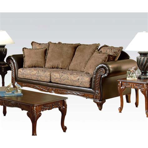 couch and loveseats serta ronalynn sofa loveseat in san marino chocolate