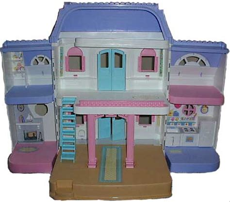 large plastic doll house 74618 grand doll house