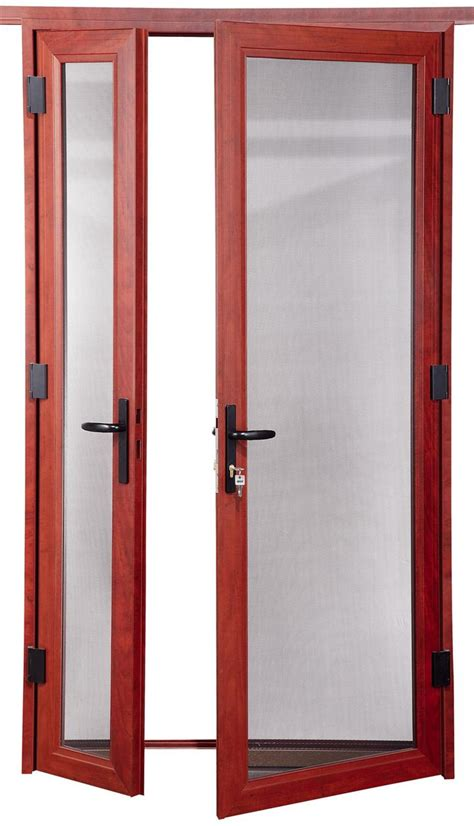 double swing doors high quality aluminum alloy double swing casement door