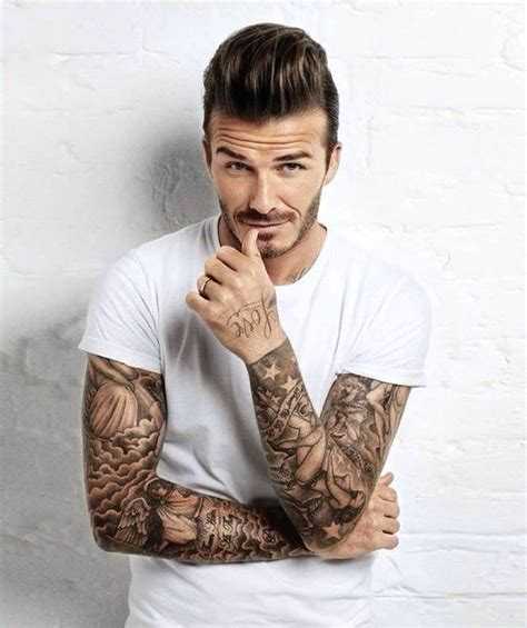 david beckham sleeve tattoo david beckham tattoos weneedfun