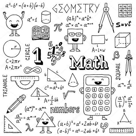 doodle maths sign up math doodles stock vector 169 sashatigar 51488307