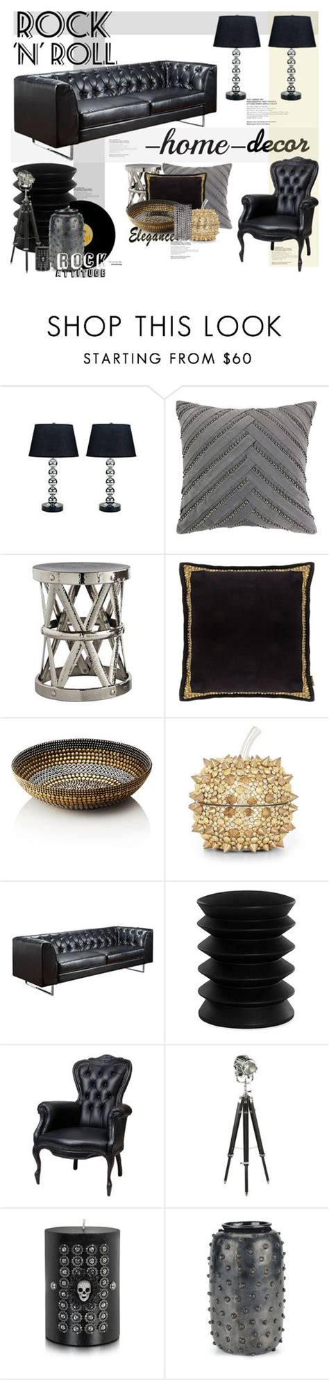 polyvore home decor rock n roll rock n and rocks on pinterest