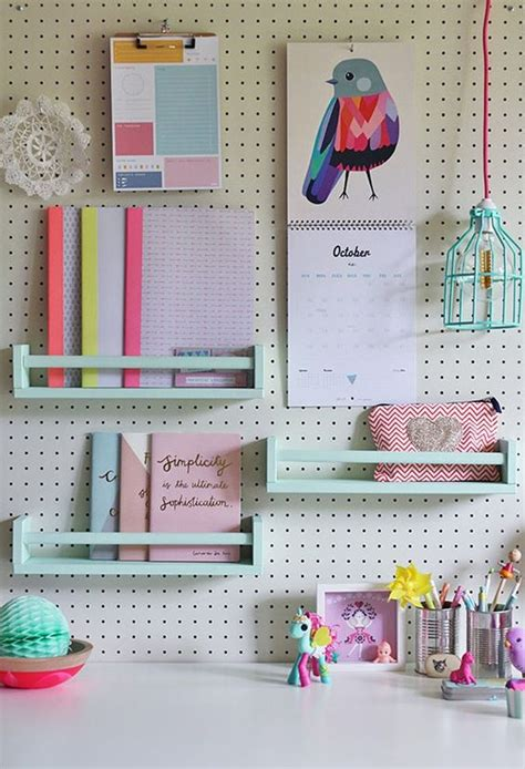 cool pegboard ideas 32 smart and practical pegboard ideas for your home digsdigs