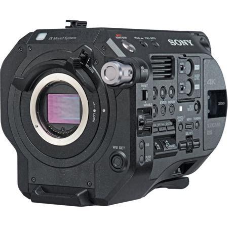 sony pxw fs7 ii 4k xdcam camera system with super 35 cmos
