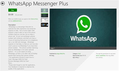 tutorial whatsapp plus beware of deceptive apps in windows store mobile tech news