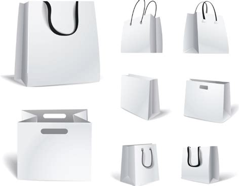 shopping bag template paper bag design template images
