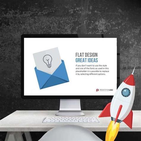 Powerpoint Vorlagen Flat Design Presentationload Powerpoint Vorlagen
