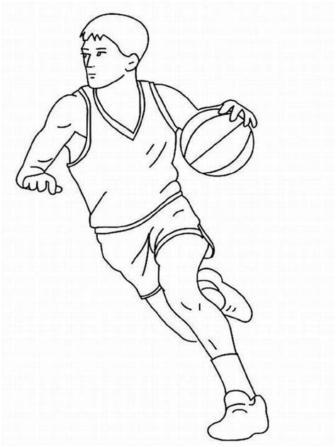 printable coloring pages basketball player free printable basketball coloring pages jump to point