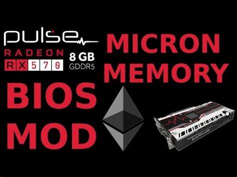 Msi Ati Radeon Vga Rx 570 Gaming X 4g bios mod sapphire pulse rx570 8g micron for ethereum amd
