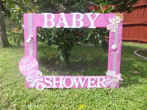 Baby Shower Picture Frame Ideas by Baby Shower For Photo Frame Cuadro Tematico Made By