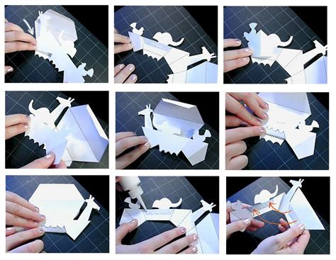 pop up storybook template image collections templates