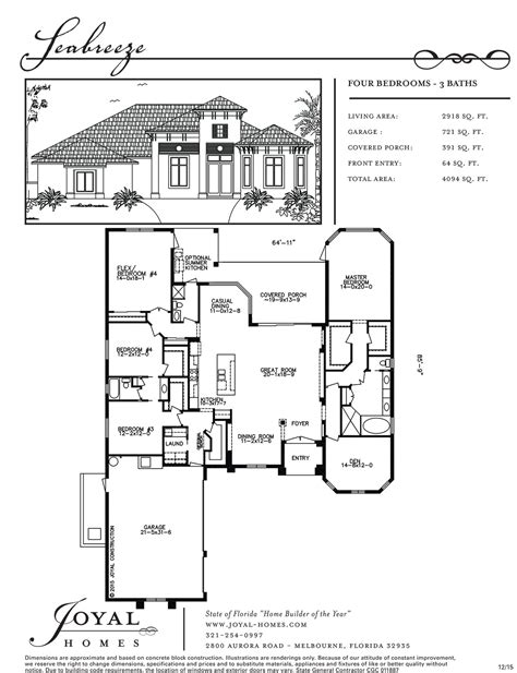 vista del sol floor plans joyal home plans