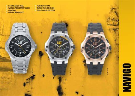 Caterpillar Navigo A1 199 21 139 catalogo cat de relojes 2012