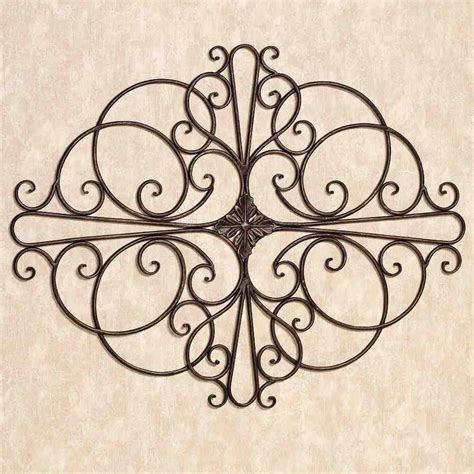 Wrought Iron Home Decor Large Outdoor Wrought Iron Wall Decor Decor Ideasdecor Ideas