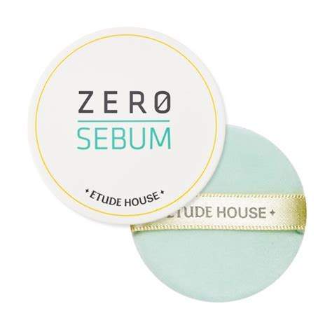 Etude Zero Sebum Powder etude house powder compact zero sebum drying powder new