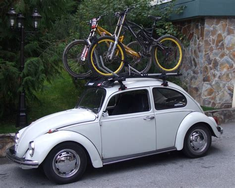 Bike Rack For Vw Beetle by Roof Rack Bike Holder Beetle