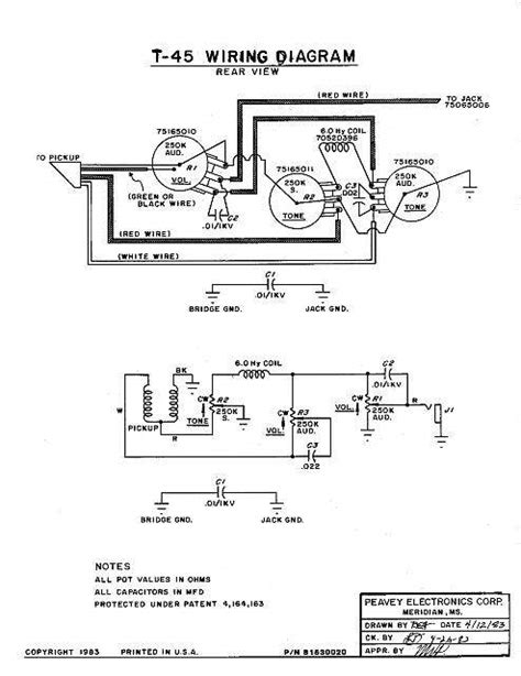 peavey t 60 guitar wiring diagram on peavey
