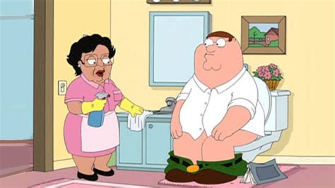family guy bathroom family guy consuela trolls peter in the bathroom youtube