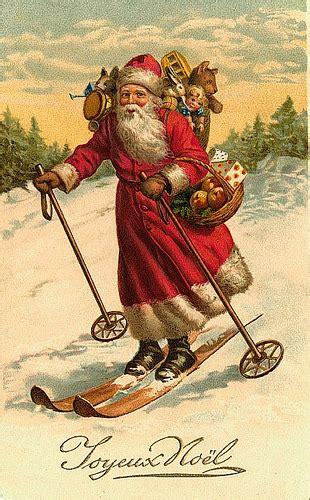 vintage santachristmas postcard      art flickr
