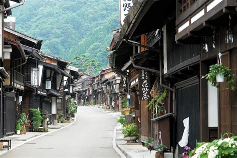 japanese town japanese traditional towns