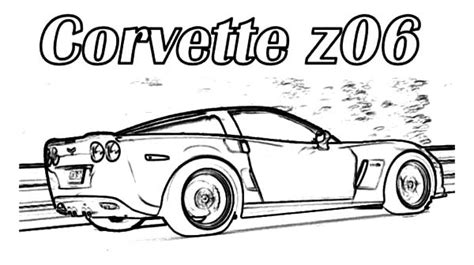 coloring pages of corvette cars corvette cars corvette z06 cars coloring pages