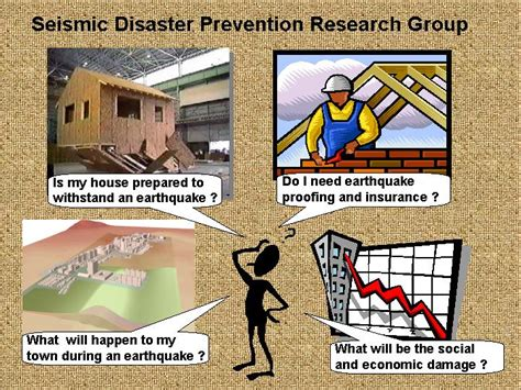 earthquake prevention seismic disaster prevention research group