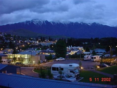 Island Kitchen Units night picture of queenstown lakeview holiday park