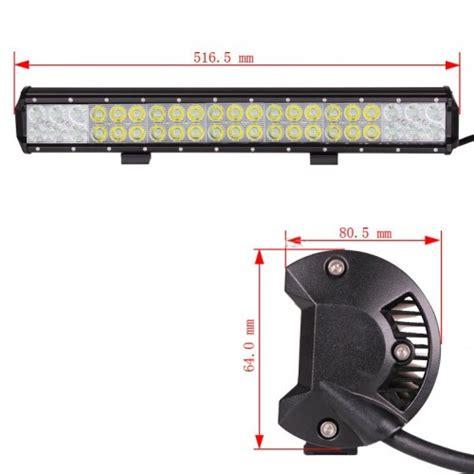 20 cree led light bar 20 quot 126w cree led light bar
