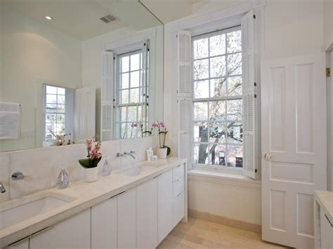 shutters in bathroom bathroom with plantation shutters white bathroom with