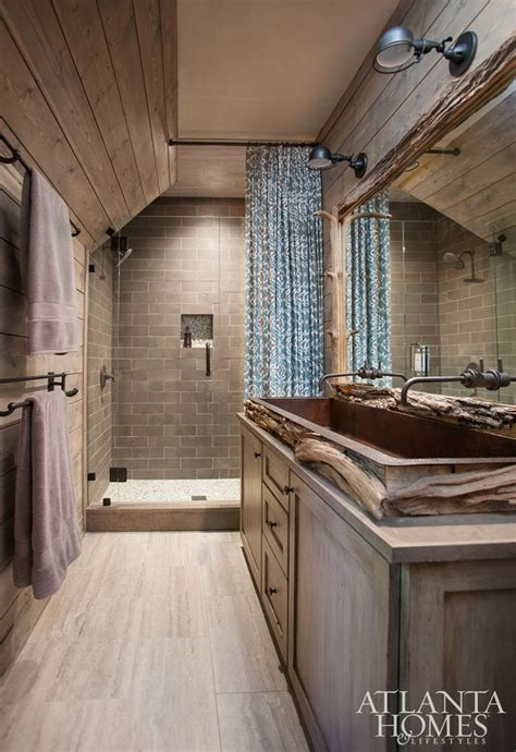 Rustic Shiplap 37 Beautiful Farmhouse Interior Designs The Home