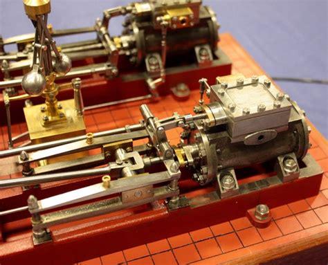 stuart twin victoria live steam engine at ataf club tessin stuart twin victoria
