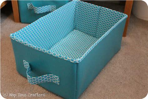 diy collapsible storage bins tutorial  organized