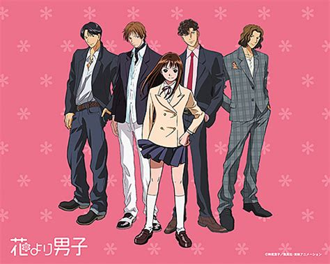 anime boy drama introduction to hana yori dango boys flowers