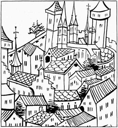 ciudad de dibujos para colorear dibujos para colorear maestra de infantil y primaria