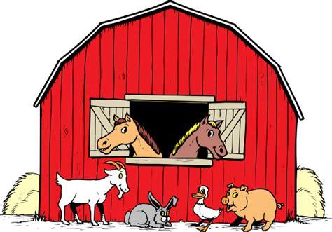 Barn Animals Clipart barnyard clip at clker vector clip royalty free domain
