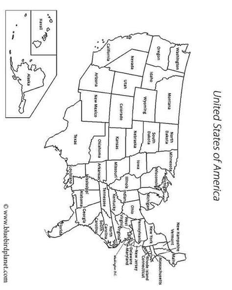 Printable Us Map For Kindergarten | free printable worksheets for preschool kindergarten 1st