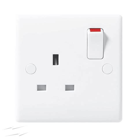 821 bg nexus 821 1 13a single pole switched socket