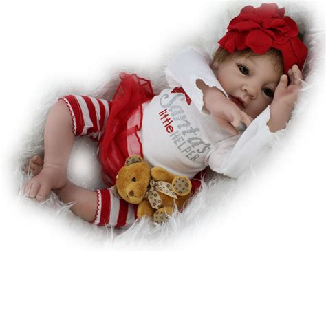 Handmade Newborn Gifts - handmade reborn newborn dolls gift 22inch lifelike soft