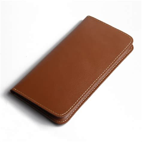Diskon Leather For Iphone 7 7plus Brown iphone 7 plus leather sleeve wallet brown pdair pouch