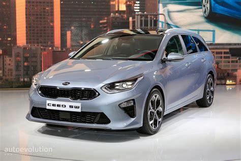 kia ceed wagon joins hatchback  geneva