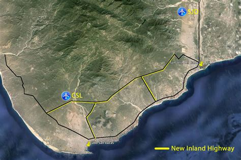 san jose airport noise map news home new highway from cabo san lucas to san