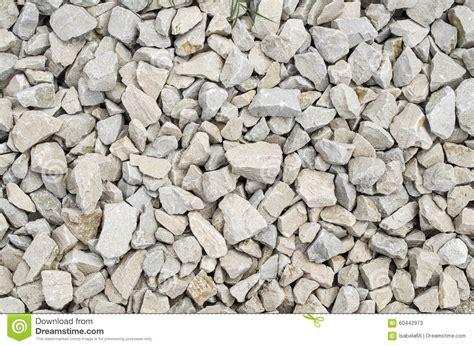 Cost Of Limestone Gravel White Limestone Gravel Closeup Stock Photo Image 60442973
