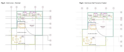 layout grid in autocad autocad 2016 half tone gridlines cadline community