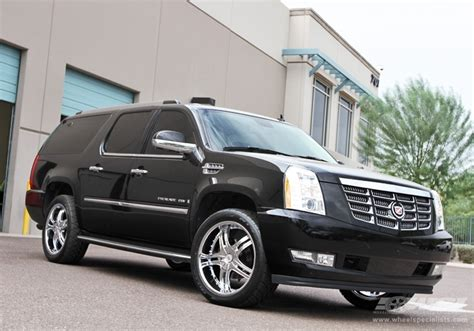 cadillac escalade 22 wheels 2010 cadillac escalade with 22 quot mkw m105 in chrome wheels