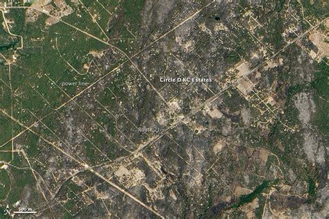Bastrop County Records Bastrop County Complex Burn Scar Hazards